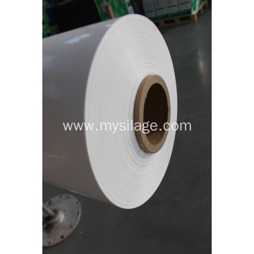 White Colour Silage Wrap Film  High Tack